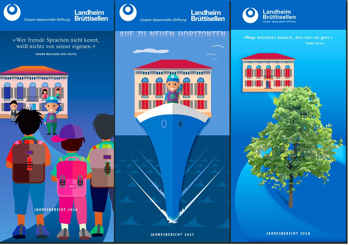 Jahresberichte Landheim